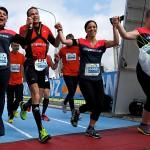 Zurich Marathon Teamrun - Isabelle Arias - Lex Reinhart - Diana Buser - Natascha Metzger