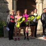 Trail Lamastre-Nozières - Bernadette Coste - Sylviane Boullon - Céline Blitz Frayret - Jean-Paul Vallon